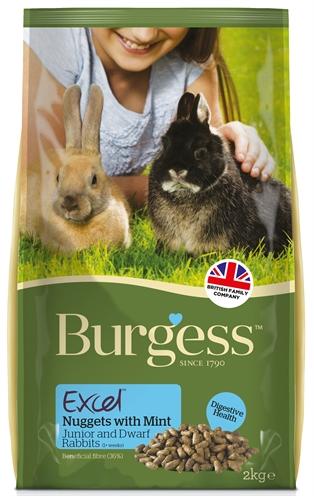 Burgess excel rabbit junior&dwergkonijn