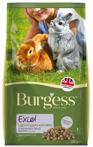 Burgess excel rabbit light konijnenvoer
