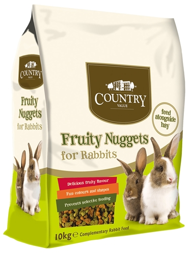 Burgess country value fruity nuggets rabbit