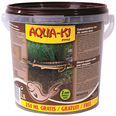 Aquaki bruin steurkorrel 2mm
