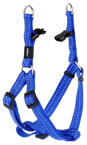 Rogz for dogs snake step in hondentuig verstelbaar blauw 61 x 1,6 cm is eeneigentijdseen trendy step in ...