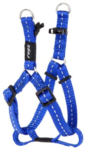 Rogz for dogs nitelife step in hondentuig verstelbaar blauw 38 x 1,1 cm is eeneigentijdseentrendy step in ...