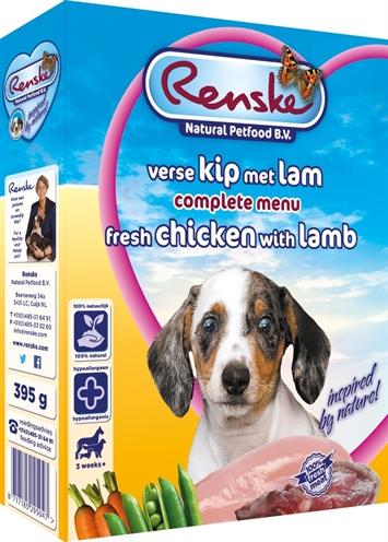 Renske Vers Vlees Puppy 10x395Gr Grootverpakking