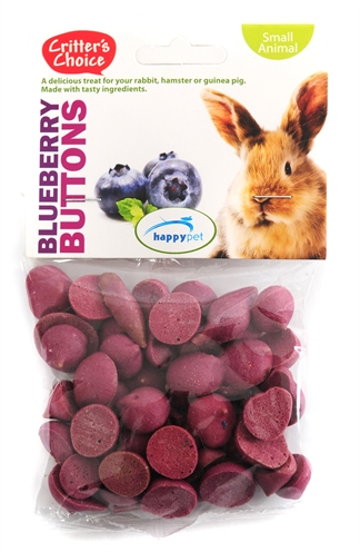 Critter's choice blueberry buttons
