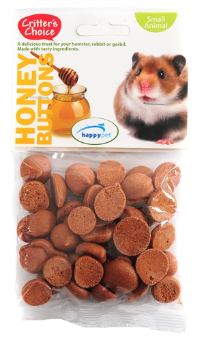 Critter's choice honey buttons