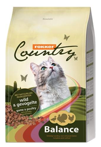 Fokker kat country balance wild-gevogelte