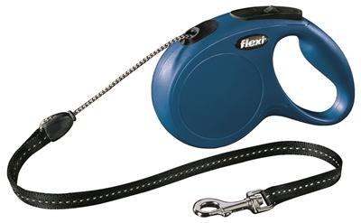 Afbeelding Flexi Classic Cord 5 meter Medium Blauw