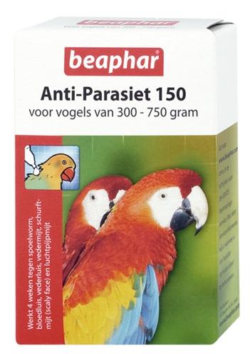 Beaphar antiparasiet 150  vogel 300750gr