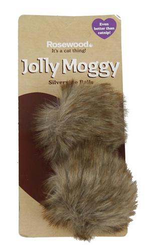 Jolly moggy silvervine ballen