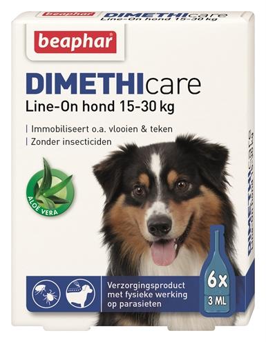 Beaphar Dimethicare Lineon Hond Tegen Vlooien En Teken 15-30 Kg