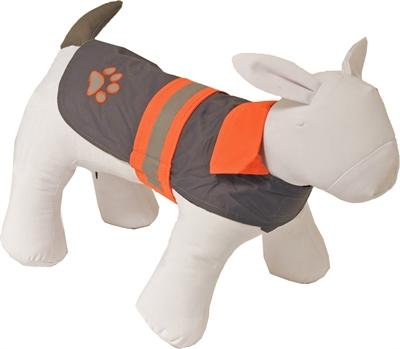 Boon regenjas safety reflecterend grijs / oranje
