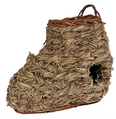 Rosewood naturals gevlochten laars