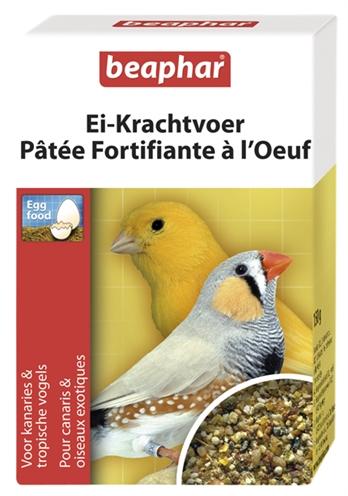 Aanvullend diervoeder voor kanaries en tropische vogels.beaphar ei krachtvoer dient als extra voeding naast ...