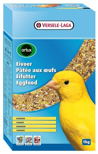 Orlux eivoer droog kanaries is ideaal voor de kweek van kleur , postuur  en zangkanaries. dit eivoer heeft ...