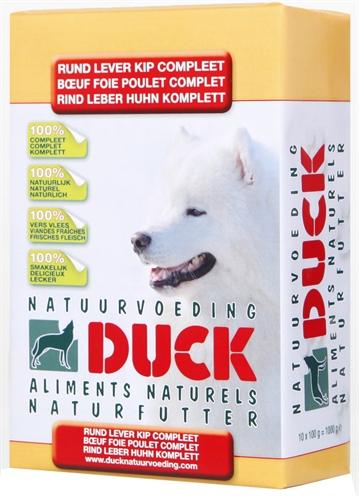 Afbeelding Duck Rund/lever/kip Compleet Breeder 8 Kg