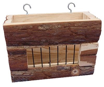 Happy pet raw wooden hayrack