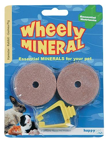 Happy pet wheely mineraal