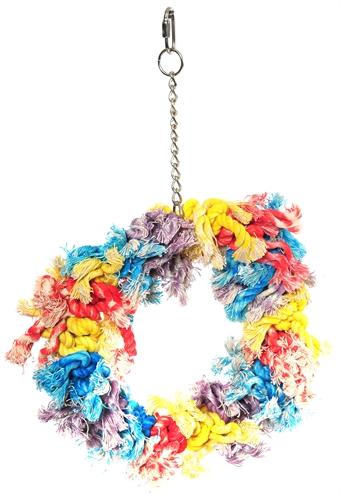 Happy pet papegaai flossin ring