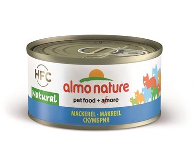 Afbeelding van Almo Nature Cat Makreel 24x70 Gr
