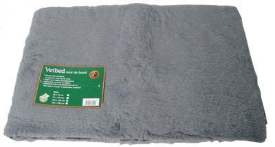 Vetbed grijs 150x150 cm