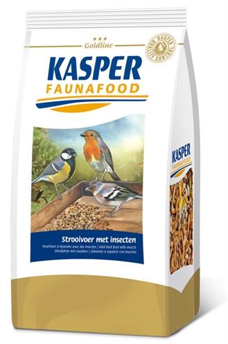 Afbeelding Kasper Faunafood Strooivoer - Voer - Insecten
